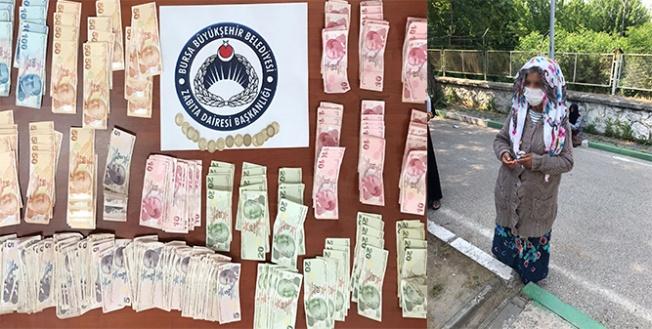 Bursa'da dilencilerden çıkan para şaşırttı
