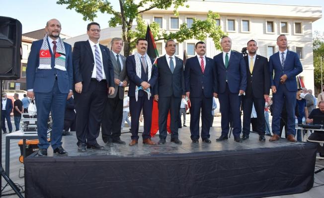 Bursa'dan İsrail'e Öfke Yağdı