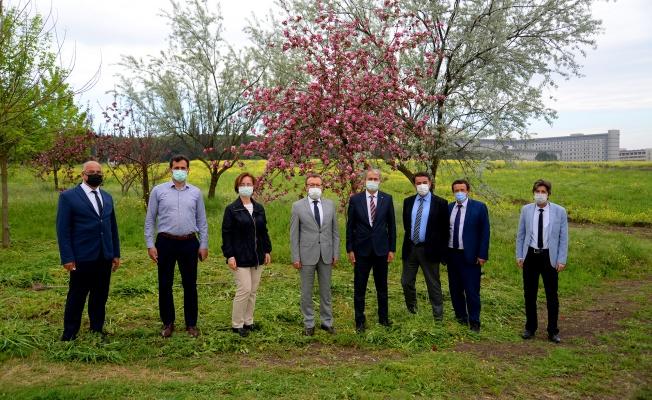 BUÜ Ziraat Fakültesi hasat rekoruna koşuyor