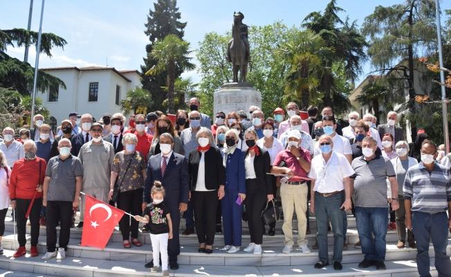 CHP Bursa İl Örgütü, Ata'nın manevi huzurundaydı