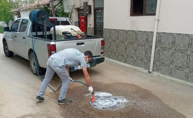 Osmangazi'den Haşerelere Karşı İlaçlama
