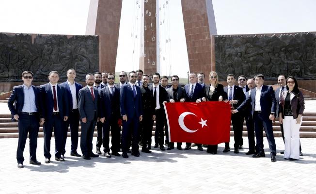 TÜGİAD, Kırgızistan'da temsilcilik açtı