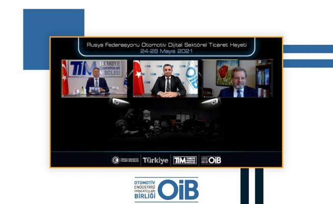 Türk ve Rus otomotivcilerden dört günde 200 görüşme