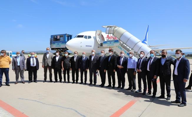 Yenişehir Havaalanı'nda seferler başladı