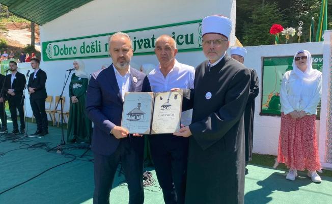 Bursa'dan Bosna'ya mescit hediyesi