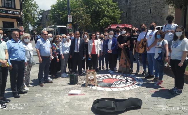 CHP'den Bursa'dan Müzisyenlere yanınızdayız mesajı