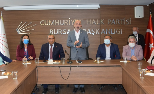 CHP Genel Başkan Yardımcısı Öztunç'tan Bursa'da önemli açıklamalar