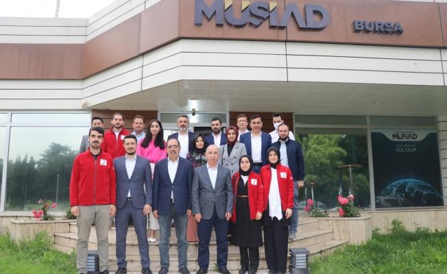Kızılay Osmangazi'den MÜSİAD Bursa'ya teşekkür ziyareti