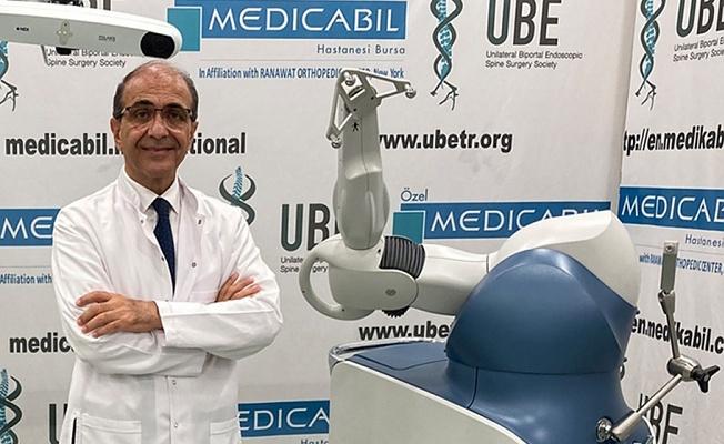 Medicabil'in robotik cerrahi başarısı…