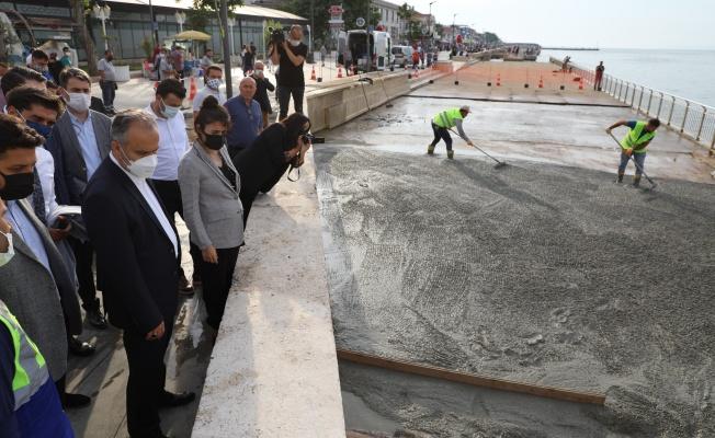 Mudanya'nın her noktasına yatırım yağmuru