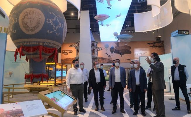 MÜSİAD Bursa Şubesi'den GUHEM'e ziyaret