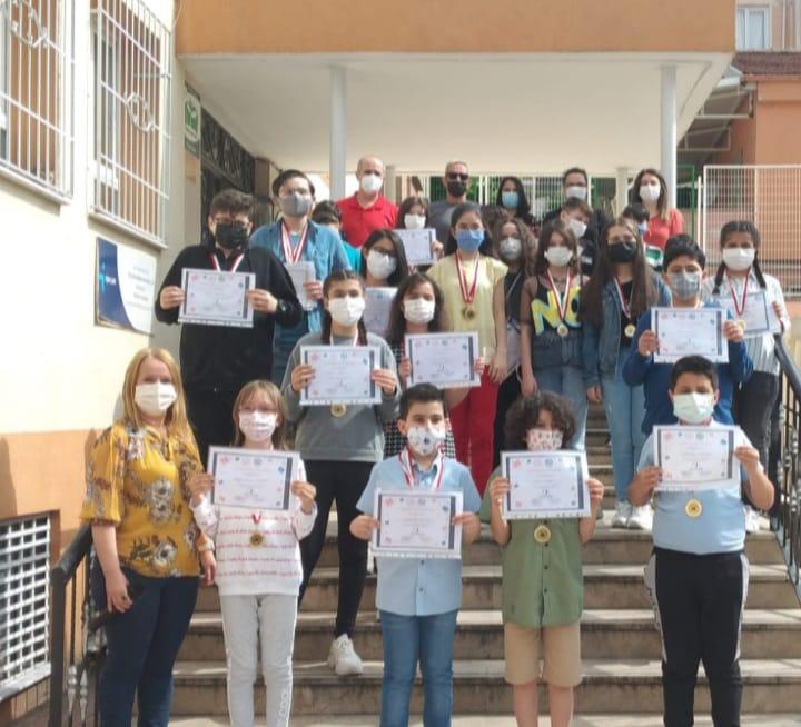 Nuri Erbak Ortaokulu eTwinning Projesini başarıyla tamamladı…