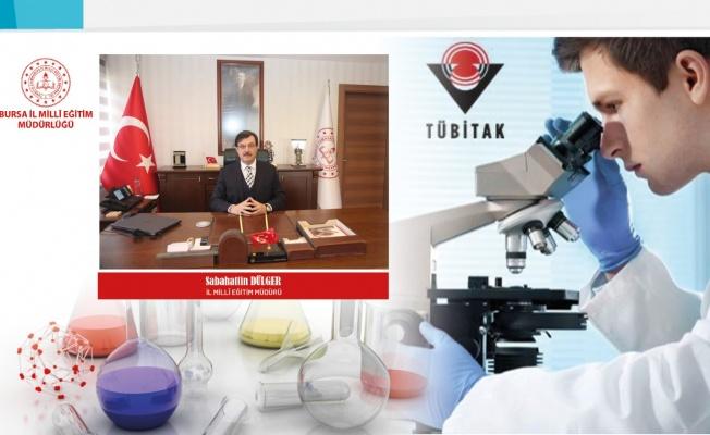 TÜBİTAK'ın proje yarışmasında Bursa'dan üç okuldan derece...