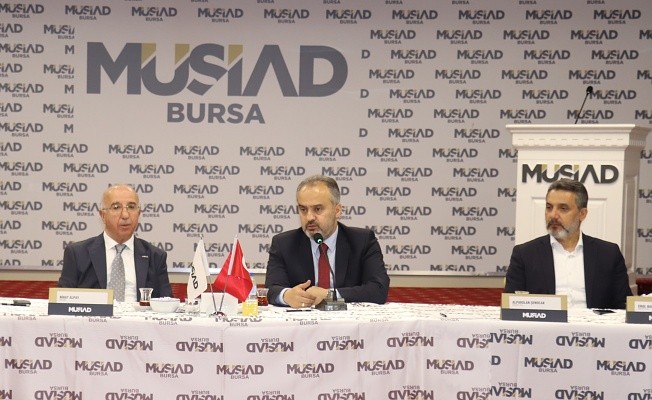 Başkan Aktaş MÜSİAD'LA istişare toplantısında buluştu