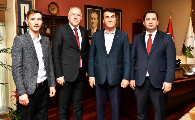Başkan Dündar'a Kardeş Ziyareti