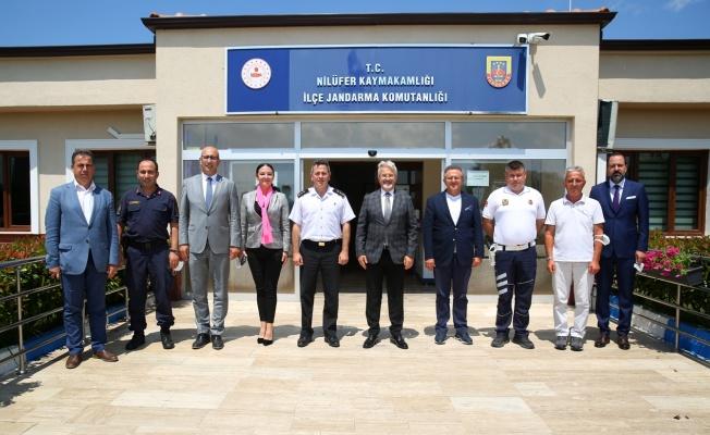 Başkan Erdem'den Kılıç'a başarı ziyareti