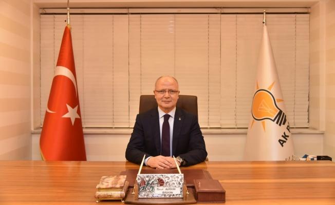 """Başkan Gürkan: """"15 Temmuz, Milli İradenin Tecellisidir"""""""