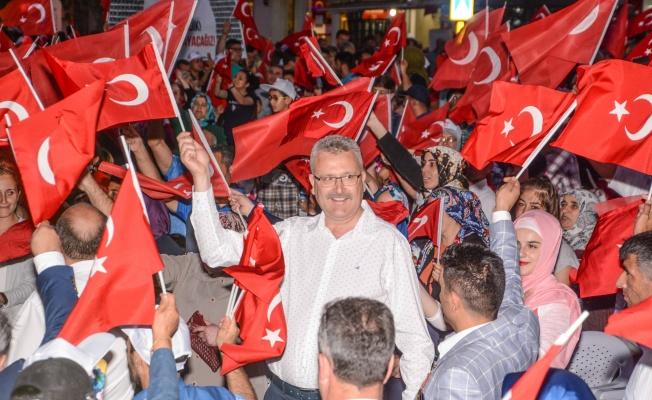 Başkan Özkan'dan 15 Temmuz mesajı