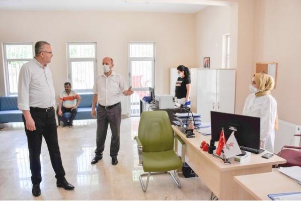 Başkan Özkan'dan sosyal hizmetler vurgusu