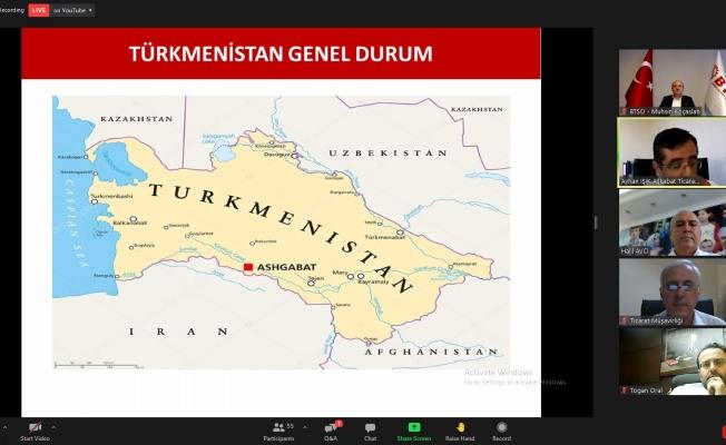 BTSO'dan Türkmenistan Webinarı