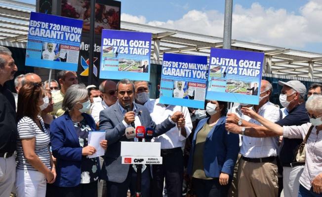 Bursa'da trafik cezası garantili EDS'ye tepki!