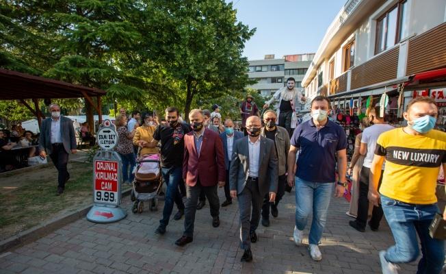 Bursa sokakları sanatla şenleniyor
