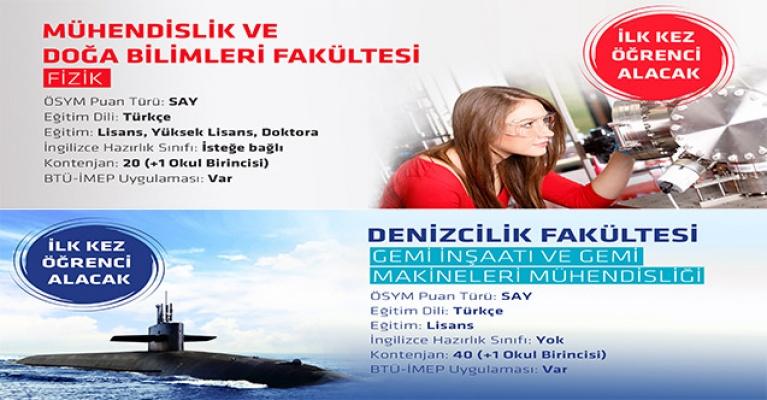 Bursa Teknik Üniversitesi'nde Yeni Dönemde İki Yeni Bölüm