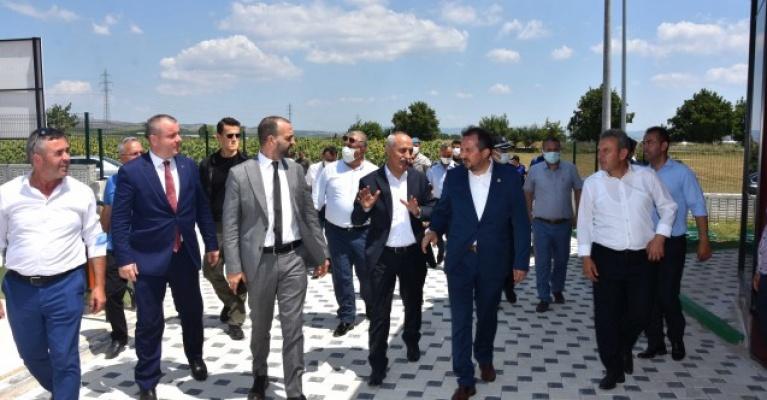 """""""Cumhur""""dan Yenişehir'de yatırım turu"""