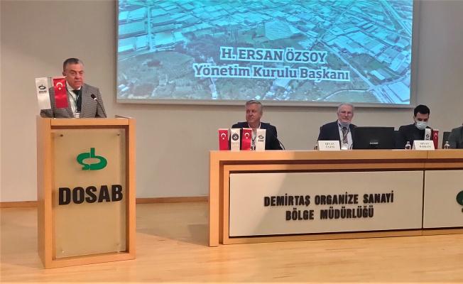 DOSAB, 12.Olağan Genel Kurul toplantısı yapıldı