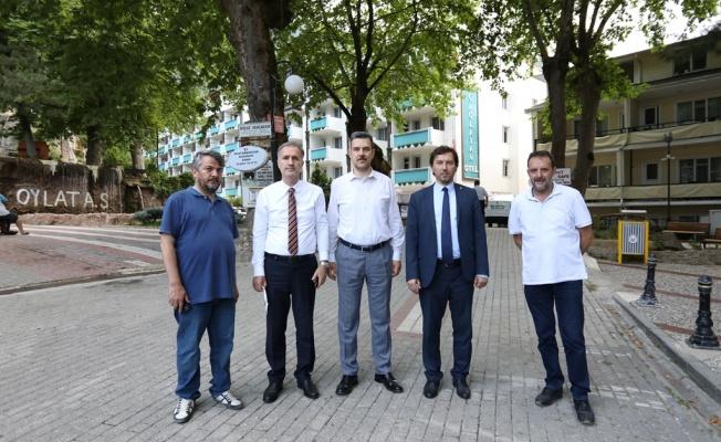 """Esgin: """"Oylat Türkiye'nin Termal Turizm Markası"""""""