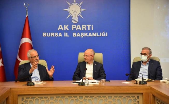 """Gürkan:""""Bursa'yı gelecek nesillere tüm güzellikleri ile taşıyacağız"""""""