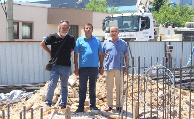 Kayapa OSB idari binaya kavuşuyor…