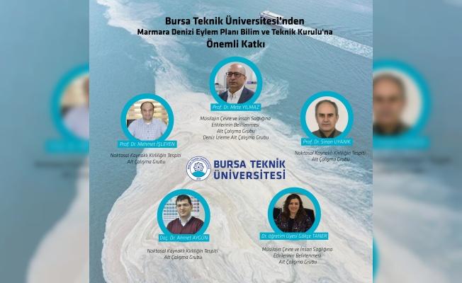 Marmara Denizi Eylem Planı Bilim ve Teknik Kurulu'na BTÜ'den Önemli Katkı
