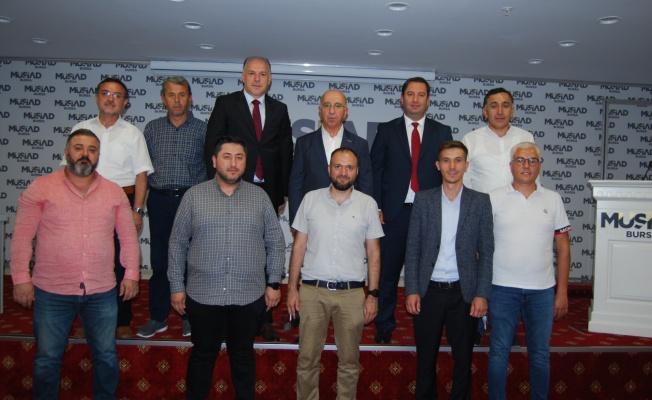 MÜSİAD Kosova heyetini ağırladı