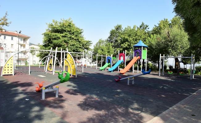Yıldırım'ın parkları yenileniyor