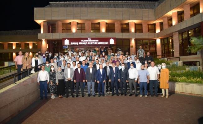 Başkan Gürkan Yıldırım'da Mahalle Başkanları ile biraraya geldi