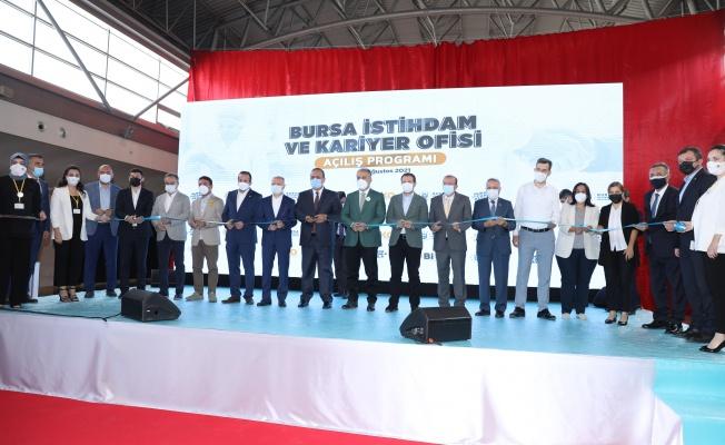 Bursa Kariyer ve İstihdam Ofisi açıldı