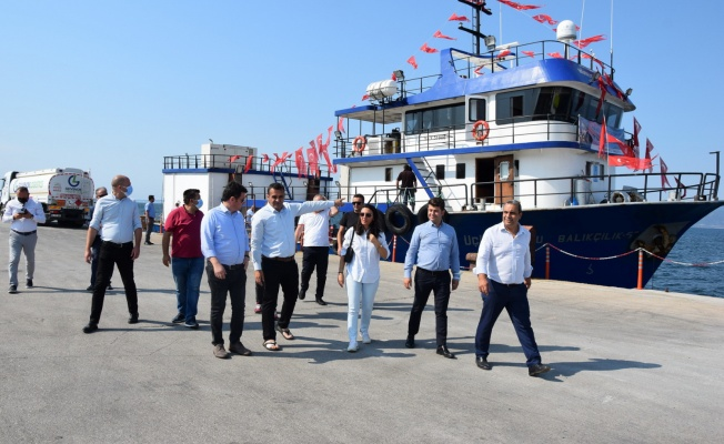 """""""CHP Gemisi"""" Gemlik, Mudanya ve Karacabey Kurşunlu'ya uğradı, sorunlar ele alındı"""