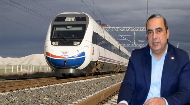 """CHP'li Karaca'dan Soru: """"Bursa'nın Treni Nerede?"""""""