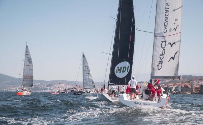 Eker Olympos Regatta yelken yarışında ilk iki etabın birincileri belli oldu