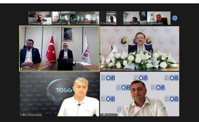 """Hisarcıklıoğlu: """"TOGG ile Bursa'ya Teknoloji Üssü Kazandırıyoruz"""""""