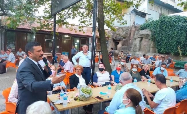 İYİ Parti Bursa 17 ilçede sahaya indi