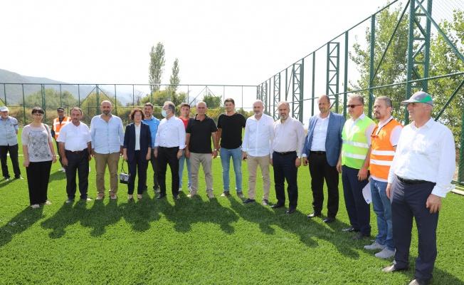 İznik'e modern spor tesisi