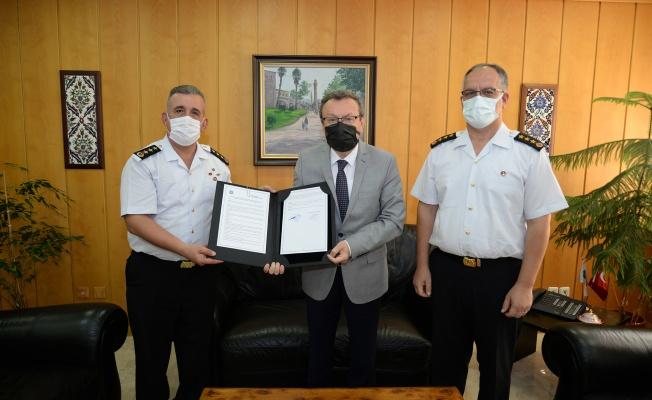 Jandarma ve Sahil Güvenlik Personelinin eğitimine BUÜ desteği