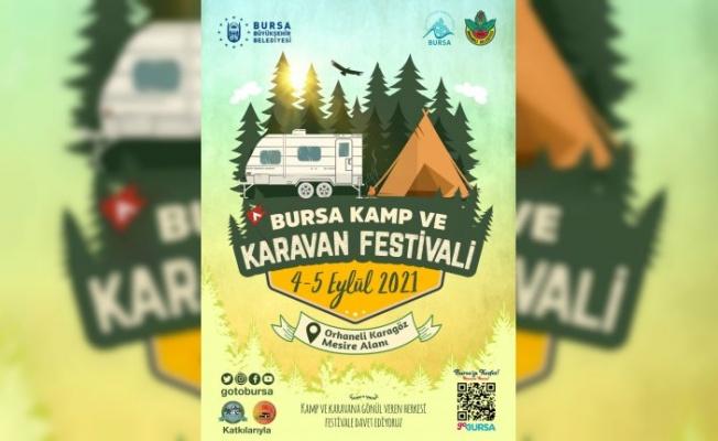 Kamp ve karavan tutkunları Bursa'da buluşuyor