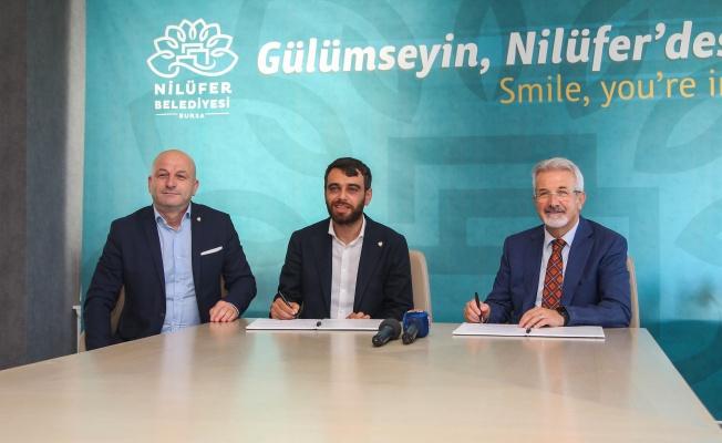Nilüfer'den Bursaspor'a destek