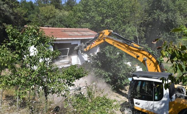Osmangazi kaçak yapılardan temizleniyor
