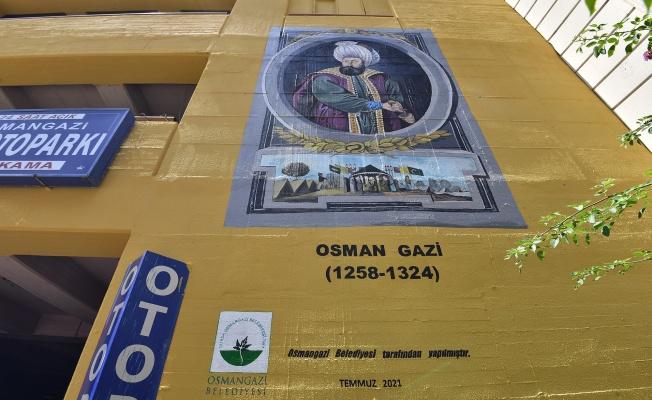 Osmangazi sokaklarına estetik dokunuş