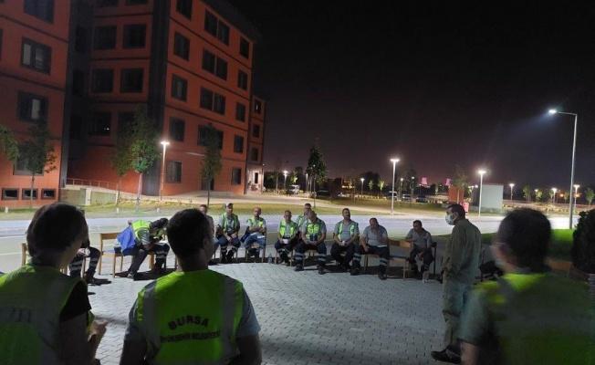 Saha ekibine iş sağlığı ve güvenliği eğitimi