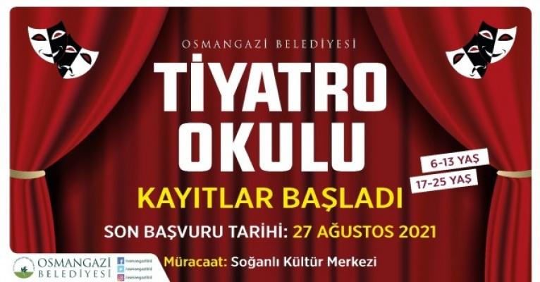 Tiyatro Tutkunları Osmangazi'de Buluşacak
